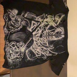 Affliction T-Shirt Large.